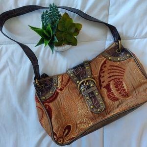 3/$20 VINTAGE Y2K PRINT SHOULDER BAG